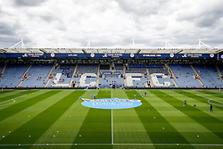 A general view of the stadium before the match - Photo mandatory by-line: Rogan Thomson/JMP - Mobile: 07966 386802 16/08/2014 - SPORT - FOOTBALL - Leicester - King Power Stadium - Leicester City v Everton - Barclays Premier League