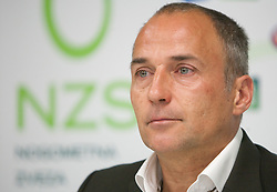 Darko Milanic, coach of NK Maribor during press conference of Hervis Cup 2011, on May 23, 2011 in Stozice, Ljubljana, Slovenia. NK Domzale and NK Maribor will play in the Final of Hervis Cup 2011 at Stozice Stadium.  (Photo By Vid Ponikvar / Sportida.com)