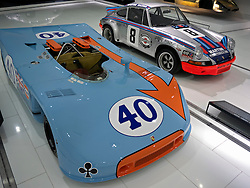 Porsche 908/03 Spyder at the Porsche Museum in Stuttgart Germany