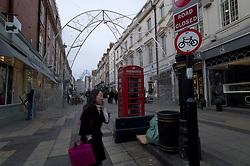 UK ENGLAND LONDON 23NOV11 - Street scene on South Molton Lane in the West End, central London.....jre/Photo by Jiri Rezac....© Jiri Rezac 2011