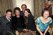 ROB BRYDON; TOM HOLLANDER; BILL NIGHY; FRAN HICKMAN; JANE WILD;  Langham Hotel party after a major renovation. Portland Place, London. 10 June 2009