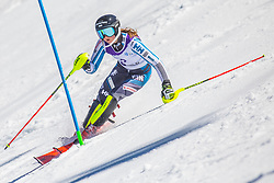 2# Honkanen Riikka from Finland during the slalom of National Championship of Slovenia 2019, on March 24, 2019, on Krvavec, Slovenia. Photo by Urban Meglic / Sportida