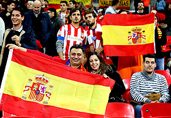 Spain fans at Wembley for the international friendly with England - Mandatory by-line: Robbie Stephenson/JMP - 15/11/2016 - FOOTBALL - Wembley Stadium - London, United Kingdom - England v Spain - International Friendly