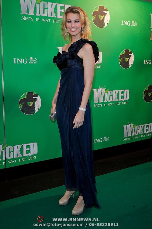 NLD/Scheveningen/20111106 - Premiere musical Wicked, Susan Smit