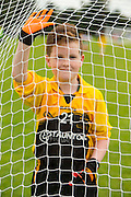19th September 2015, Official opening of Meath Centre of Excellence at Dunganny <br /> Cillian McHugh of St Cuthberts (Bohermeen) pictured at the GAA Blitz during the European week of sport which aimed to involve 10,000 children in the sport.<br /> Photo: David Mullen /www.cyberimages.net / 2015