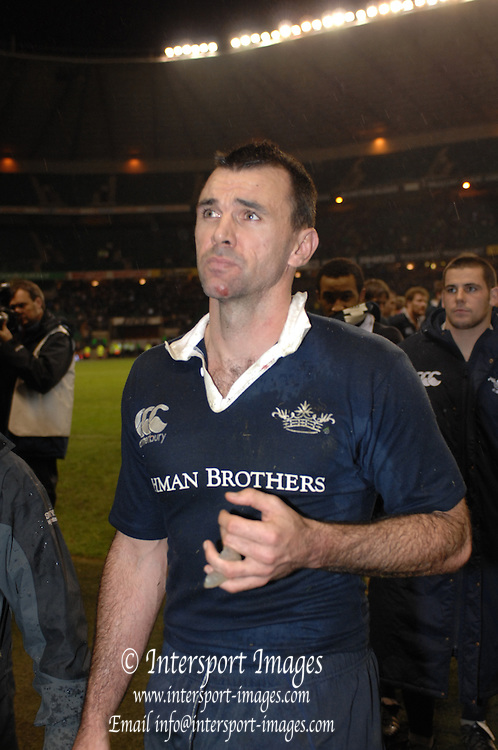 Twickenham, Great Britain, Oxford, Capt. Joe ROFF makes his way through to collect the loser medal, at the annual 'Varsity Match' Oxford vs Cambridge at Twickenham, 02/12/2007 [Mandatory Credit Peter Spurrier/Intersport Images]