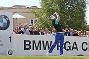 Scott JAMIESON teeing off from the 1st hole during the 4th day of the BMW PGA Championship at Wentworth, Virginia Water, United Kingdom on 24 May 2015. Photo by Ellie  Hoad.