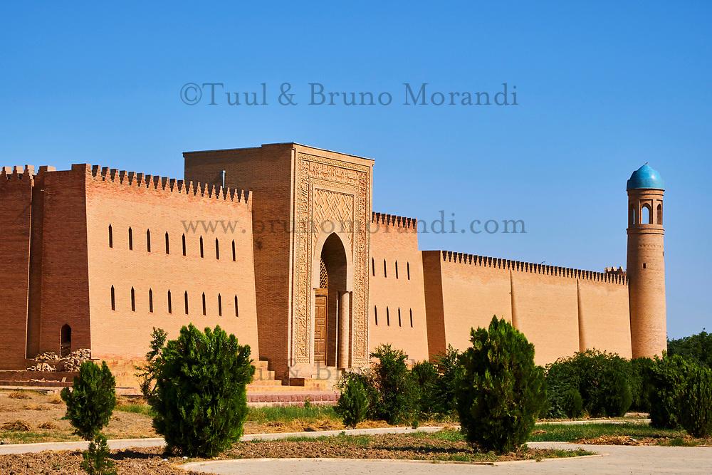 Tadjikistan, Asie centrale, Kurban Shaid, Palais citadelle de Hulbuk, sur la route de Khorog à Douchanbe // Tajikistan, Central Asia, Kurbon Shaidn Hulbuk Palace, on the road Douchanbe to Khorog
