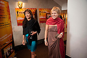 LISA TSENG; AMBER NUTTALL, ÒSAFFRON TUESDAYÓ UK PREMIERE OF BURMA VJ <br />  BAFTA, Piccadilly, LONDON. 14 July 2009<br /> LISA TSENG; AMBER NUTTALL, ?SAFFRON TUESDAY? UK PREMIERE OF BURMA VJ <br />  BAFTA, Piccadilly, LONDON. 14 July 2009