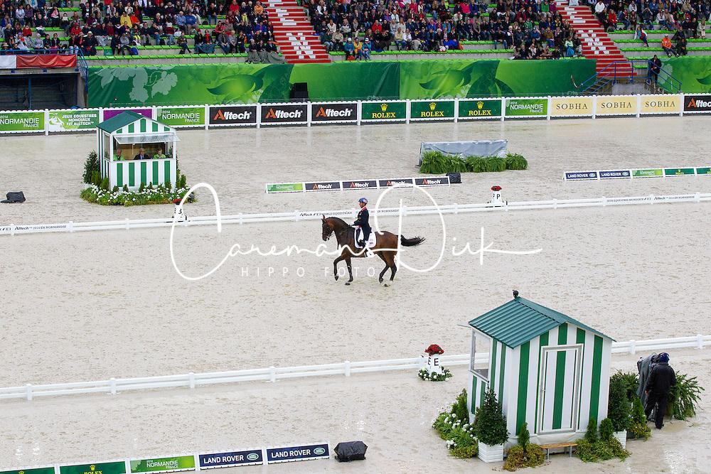 Carl Hester, (GBR), Nip Tuck - Grand Prix Team Competition Dressage - Alltech FEI World Equestrian Games™ 2014 - Normandy, France.<br /> © Hippo Foto Team - Leanjo de Koster<br /> 25/06/14