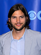 Ashton Kutcher attends the CBS Prime Time 2011-12 Upfronts in the Tent at Lincoln Center  in New York City on May 18, 2011.