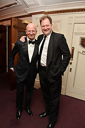 Left to right, Andrei Nasonovsky and Julian Gallant at the Ave Maya Ballet gala in memory of Maya Plisetskava held at the English National Opera, St.Martin's Lane, London on 6th March 2016.