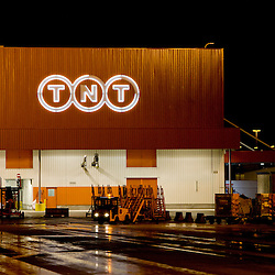 20100218 - LIEGE, BELGIUM : Illustration picture of TNT European Air Hub in Liège Airport, Belgium. © Patrick Gueneau