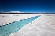 Salt Flats, Salinas Grandes, Jujuy, Argentina. 27 April 2011.