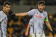 Umut Nayir of Besiktas during the Europa League match between Wolverhampton Wanderers and Besiktas at Molineux, Wolverhampton, England on 12 December 2019.