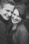 Manchester romantic engagement photo session