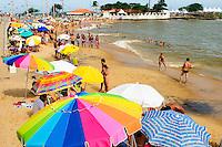 Brasil - Guarapari - Espirito Santo - Vista da Praia da Areia Preta no Centro de Guarapari - Foto: Gabriel Lordello/ Mosaico Imagem