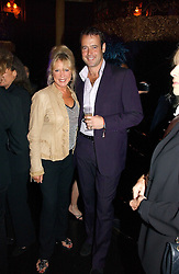 PATTI BOYD and LANCE GERRARD-WRIGHT at a Lonsdale Supper Club party held at the Cafe de Paris, Coventry Street, London on 28th September 2006.<br /><br />NON EXCLUSIVE - WORLD RIGHTS