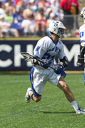 31 May 2010: Duke Blue Devils attackman Ned Crotty (22) in a 5-6 win over the Notre Dame Fighting Irish for the NCAA Lacrosse Championship at M&T Bank Stadium in Baltimore, MD.