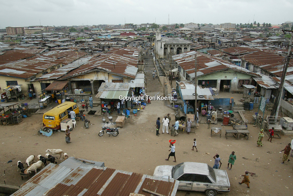 slums in lagos, Nigeria