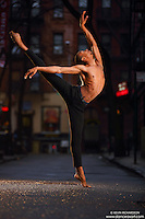 Dance As Art Streets of New York West Village Series with dancer Daniel White