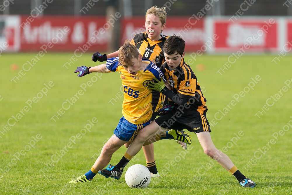 Ennis CBS's Cillian Moroney V Ballyea's Cian O'Brien and Cian Kirby