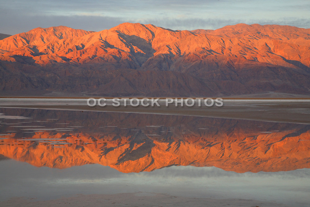 Sunrise At Badwater Death Valley National Park