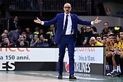 Francesco Vitucci of Happy Casa Brindisi   <br /> Banco di Sardegna Sassari - Happy Casa Brindisi<br /> Postemobile Final Eight 2019 Zurich Connect<br /> Basket Serie A LBA 2018/2019<br /> FIRENZE, ITALY - 16 February 2019<br /> Foto Mattia Ozbot / Ciamillo-Castoria