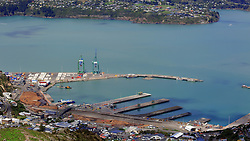 A last-ditch effort of mediation between the Rail and Maritime Union and Lyttelton Port Company has failed with Port workers striking as of Midnight tonight following the refusal to pay full wages for about 70 cargo handlers, Christchurch, New Zealand, Monday March 12, 2018. Credit:SNPA / Hayden Woodward**NO ARCHIVING**