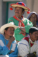 Change of authorities in the Wixarica Community.  San Sebastián Teponahuaxtlán, Jalisco. Mexico.