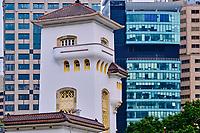 Chine, Hong Kong, Hong Kong Island, quartier branché de Soho, Hollywood road // China, Hong Kong, Hong Kong Island, Soho in Hollywood road