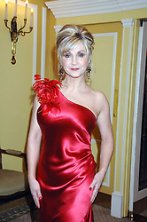 Singer LESLEY GARRETT at the Chain of Hope Ball held at The Dorchester, Park Lane, London on 4th February 2008.<br /><br />NON EXCLUSIVE - WORLD RIGHTS