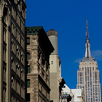 The Empire State building New York City