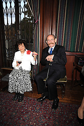 JACQUELINE, LADY KILLEARN and LORD BELHAVEN & STENTON at a Literary Evening to celebrate the publication of Masters & Commanders by Andrew Roberts held at The Polish Institute and Sikorski Museum, 20 Princes Gate, London SW7 on 1st October 2008.