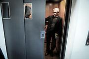 20170620/ Javier Calvelo - adhocFOTOS/ URUGUAY/ MONTEVIDEO/ MTSS - Ministerio de Trabajo y Seguridad Social/ Juan Castillo tras realizar la &uacute;ltima negociaci&oacute;n en el MTSS renuncia a su puesto de director nacional de trabajo.<br /> En la foto:  Juan Castillo su ultimo d&iacute;a  en el MTSS. Foto: Javier Calvelo/ adhocFOTOS