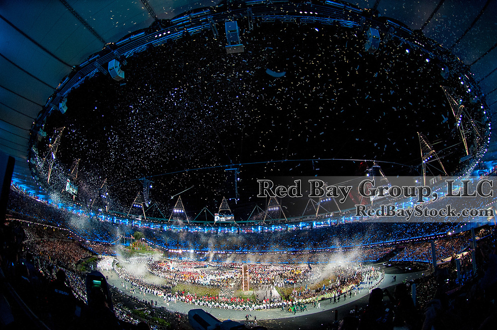 Opening Ceremony - Olympic Stadium - London 2012 Olympic Games - Olympic Park, London, United Kingdom -  27 July 2012
