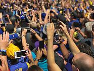 Oakland: Warriors NBA Championship Parade - 15 June 2017