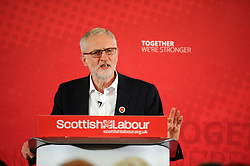 Jeremy Corbyn, Dunfermline, 24-04-2017<br /> <br /> Jeremy Corbyn MP visited Dunfermline Conference Centre <br /> <br /> (c) David Wardle   Edinburgh Elite media
