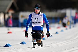 PETRENKO Denis, KAZ at the 2014 IPC Nordic Skiing World Cup Finals - Middle Distance