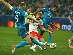 November 5, 2019, St. Petersburg, Russia: Russian Federation. Saint-Petersburg. Gazprom Arena. Football. UEFA Champions League. Group G. round 4. Football club Zenit - Football Club RB Leipzig. Player of Zenit football club Wilmar Barrios  (Credit Image: © Russian Look via ZUMA Wire)