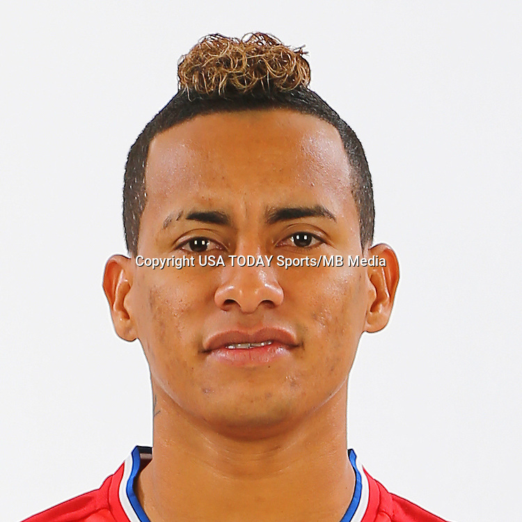 Feb 25, 2017; USA; FC Dallas player Michael Barrios poses for a photo. Mandatory Credit: USA TODAY Sports