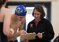 St Paul's School swim meet.  ©2020 Karen Bobotas Photographer