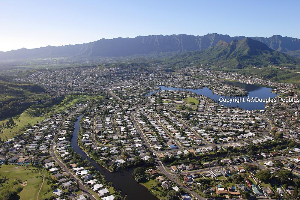 Enchanted Lakes, Kailua, Oahu, Hawaii