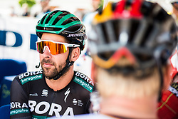 Michael Schwarzmann (GER) of Bora - Hansgrohe before 3rd Stage of 26th Tour of Slovenia 2019 cycling race between Zalec and Idrija (169,8 km), on June 21, 2019 in Slovenia. Photo by Peter Podobnik / Sportida
