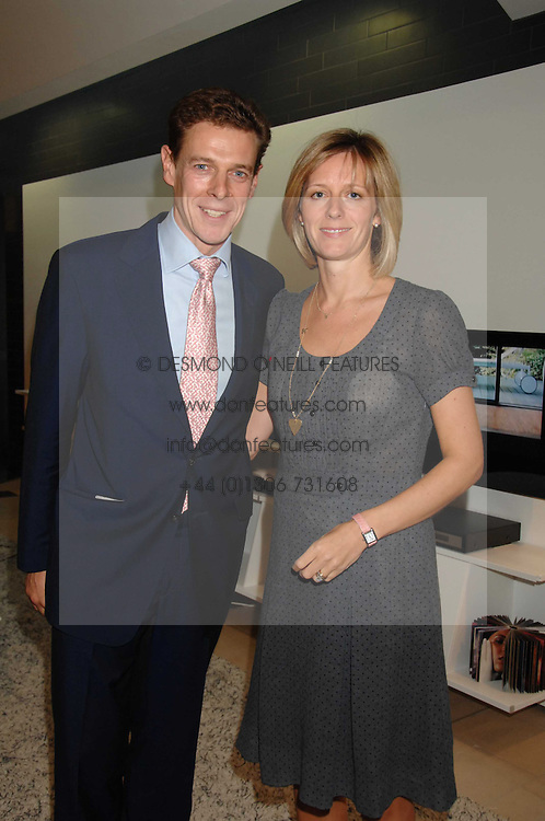 JAMES & JULIA OGILVY at the 2007 Luxury Briefing Awards at B&B Italia, 250 Brompton Road, London SW3 on 4th October 2007.<br />