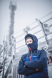 THEMENBILD - Bernhard Niedermoser (Leitung ZAMG Salzburg) am Sonnblick Observatorium, aufgenommen am 20. November 2018, Rauris, Österreich // Bernhard Niedermoser (Head of ZAMG Salzburg) at the Observatory Sonnblick on 2018/11/20, Rauris, Austria. EXPA Pictures © 2018, PhotoCredit: EXPA/ JFK