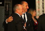 All Blacks coach Graham Henry and NZRU chairman Jock Hobbs.<br /> All Blacks end-of-year tour team announcement, NZRU HQ, Wellington. Sunday, 26 October 2008. Photo: Dave Lintott/PHOTOSPORT