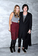Charlotte Ronson and Nate Reuss attend the Charlotte Ronson presentation during the Mercedes-Benz Fall/Winter 2015 shows at the Pavilion in Lincoln Center in New York City, New York on February 13, 2015.