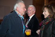 DAVID BAILEY; BARRY TOWNSLEY, Opening of Bailey's Stardust - Exhibition - National Portrait Gallery London. 3 February 2014