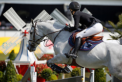 Nooren Lisa, NED, Ilusie Q<br /> Rivez Assuratiën Prijs<br /> Nederlands Kampioenschap Jumping Young Riders - Mierlo 2017<br /> © Hippo Foto - Dirk Caremans<br /> 20/04/2017
